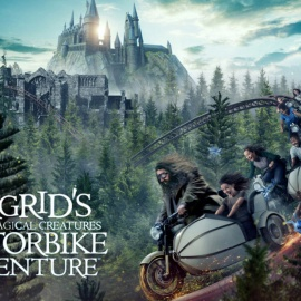 SNEAK PEEK: Universal Orlando's New Ride - Hagrid's Magical Creatures Motorbike Adventure