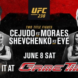 Watch UFC 238 And Celebrate Father's Day At GameTime!