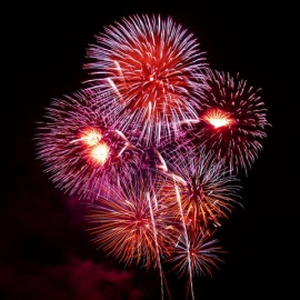Best Fireworks Shows in North Central Florida