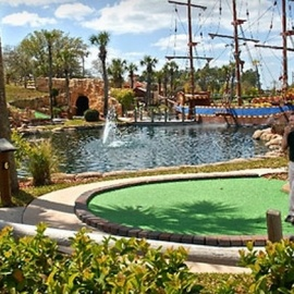 Larger Than Life Mini Golf In Daytona Beach