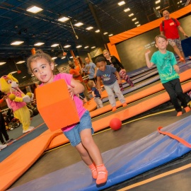 Sky Zone Kansas City Introduces New Characters for Toddler Time