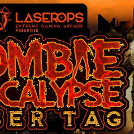 Fight Off the Zombie Hoarde at Laser Ops Extreme Gaming Arcade!