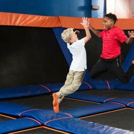 Sky Zone Partners With American Ninja Warrior for Fit Kids Day