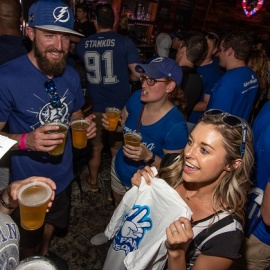 Tampa Bay Lightning Season Kickoff Bar Crawl with Downtown Crawlers, Saturday, September 28
