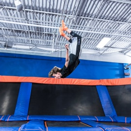 Join Little Leapers Halloween Parade at Sky Zone Fort Myers!