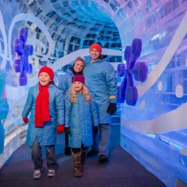 This Year's Gaylord Palms ICE! Returns with New Polar Express Theme