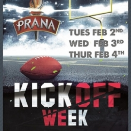 Club Prana, Tampa's Premier Party Venue, Hosts a Week Full of Parties Prior to Super Bowl 55