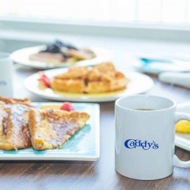 Caddy's Waterfront Dining Boast Mouthwatering Breakfast Menu