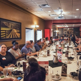 Group Dining for Events at Terra Gaucha Brazilian Steakhouse