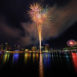Boom By The Bay For July 4th in Tampa | Fireworks on Tampa's Riverfront