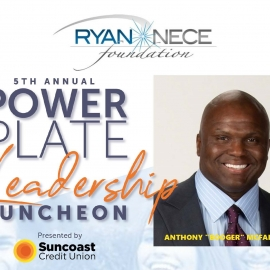 The Ryan Nece Foundation's 5th Annual Power Plate Leadership Luncheon