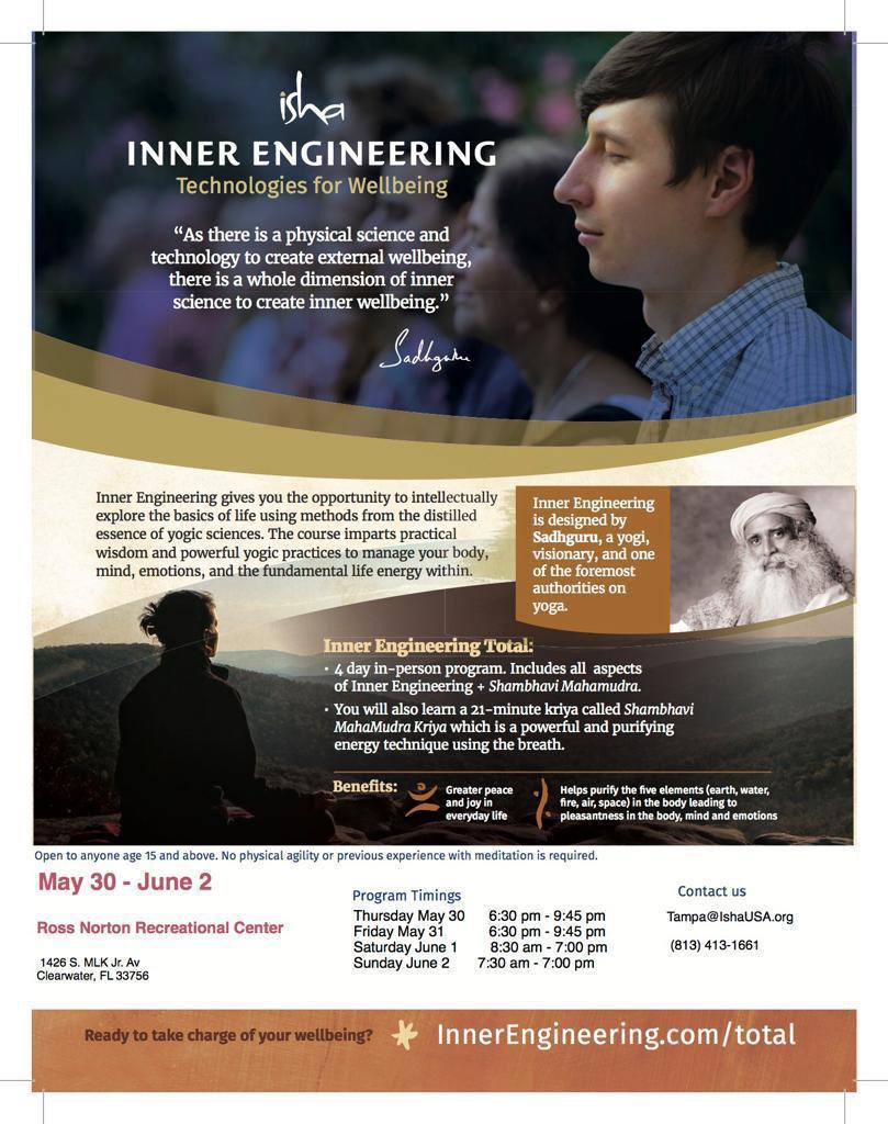 Inner Engineering Total in Tampa: Technologies for Well being