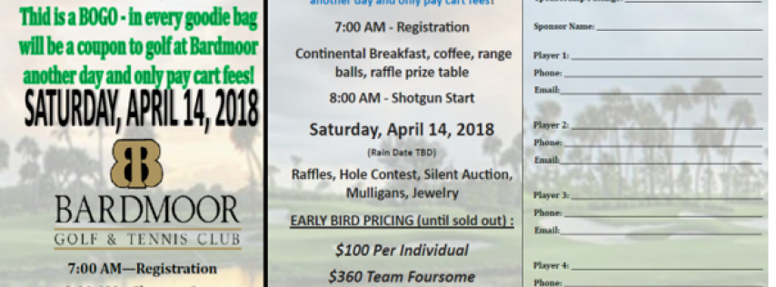 $10k Hole in 1 Golf Tournament at Bardmoor with BOGO to come golf another day for free
