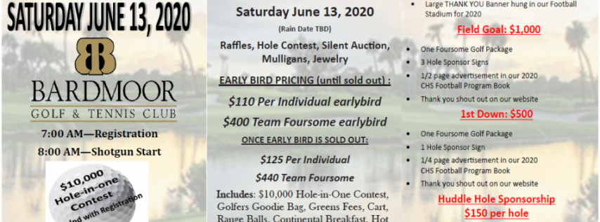 $10k hole in 1 All Inclusive Golf Tournament, BOGO at Bardmoor