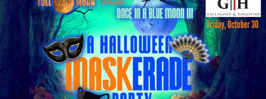 Once in a Blue Moon Halloween Party