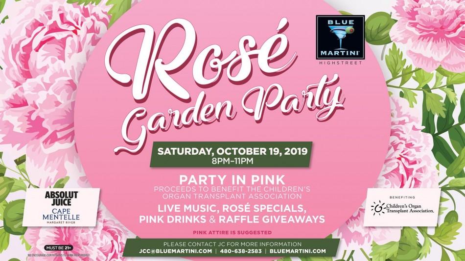 Rosé Garden Party - Blue Martini Phoenix