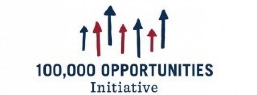 100K Opportunities Initiative Hiring Event