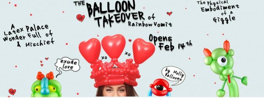 The Balloon Takeover of Rainbow Vomit