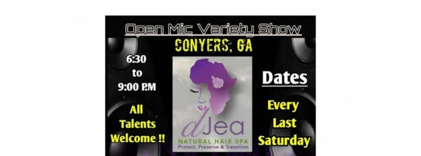 Art Out Loud ATL: Open Mic Variety Show-Conyers