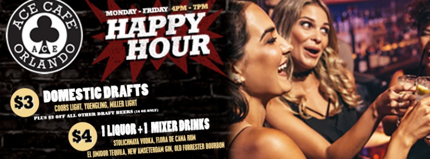 Happy Hour Event @ Ace Cafe