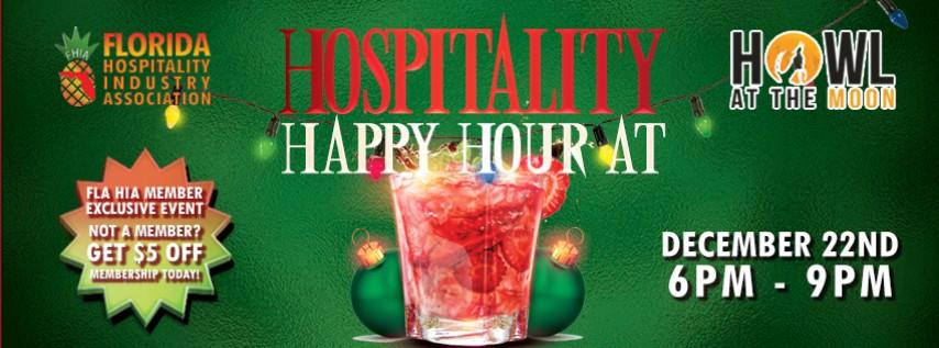 Holiday Hospitality Happy Hour