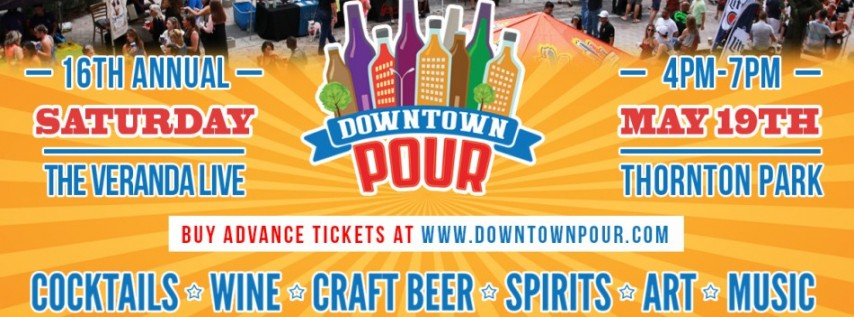 Downtown Pour - Thornton Park Edition POSTPONED Until 7/22