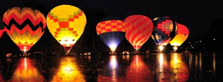 Balloon Glow Part Of Riverfest 2016 Tampa Fl Apr 30
