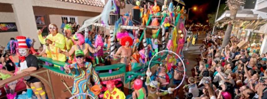 2017 Fantasy Fest Parade in Key West