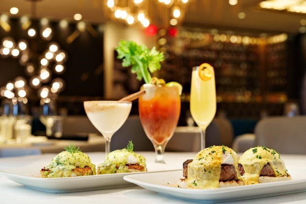 HIP HOP HOORAY FOR A DELICIOUS EASTER MEAL AT PERRY'S STEAKHOUSE & GRILLE IN OAK BROOK