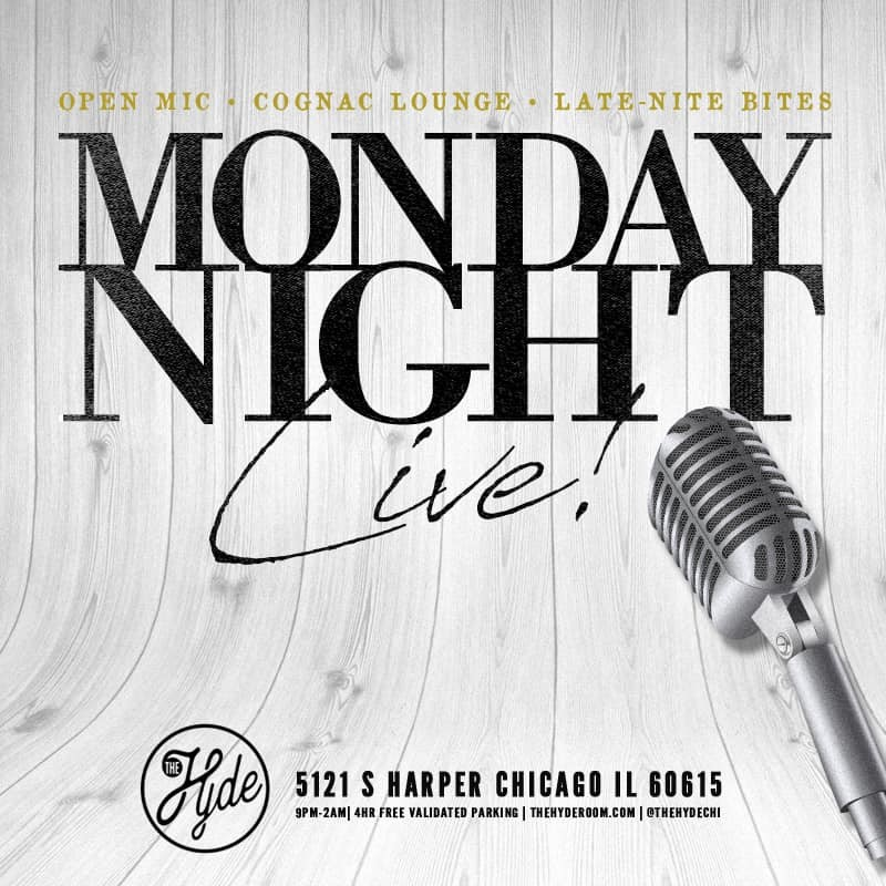 Live Music Nights at The Hyde Speakeasy in Chicago's Hyde Park