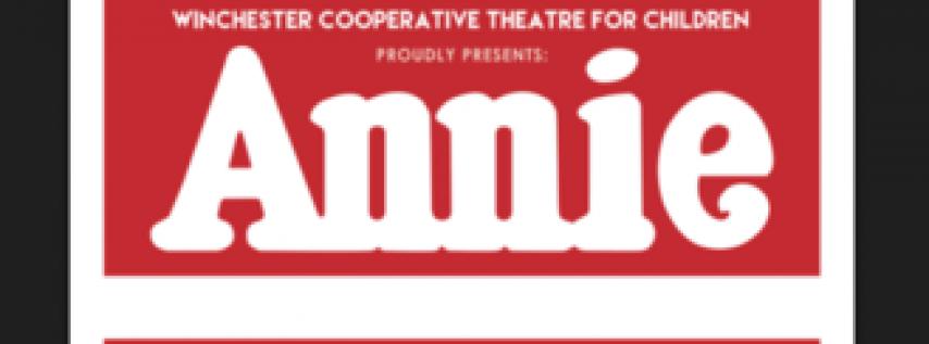 ANNIE -www.winchesterchildrenstheatre.tix.com