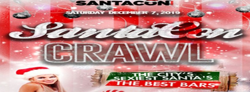 Boston Faneuil Hall SantaCon Crawl - December 2019