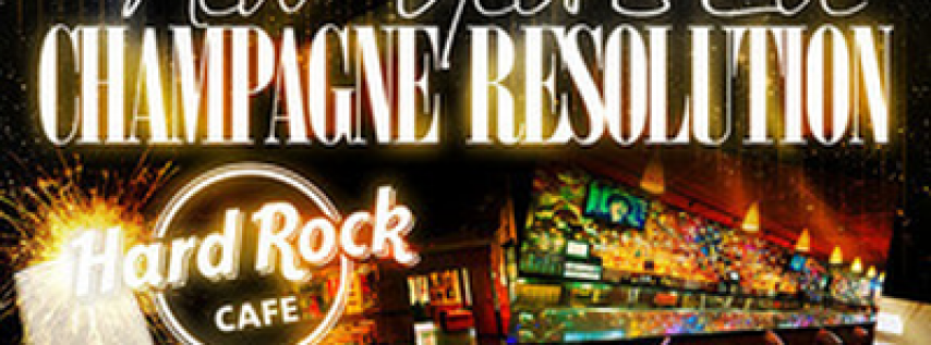 'Champagne Resolution' New Year's Eve 2020 at Hard Rock Boston