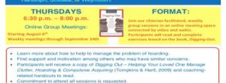 Coaching for Decluttering Success Group (for Friends, Familiy, and Caregivers of