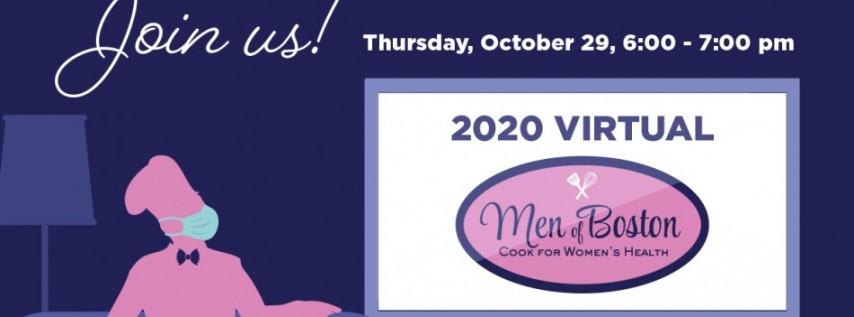 Men of Boston Cook for Women's Health 2020
