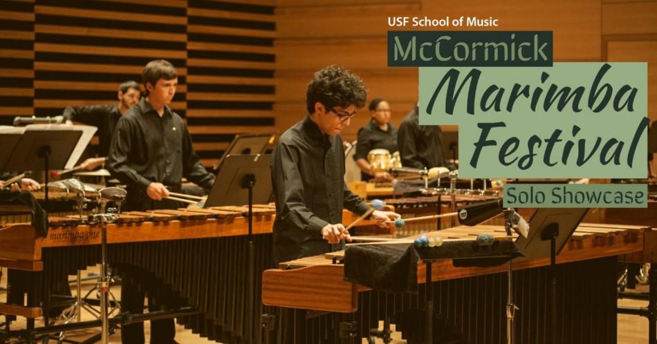 USF McCormick Marimba Festival: Solo Showcase