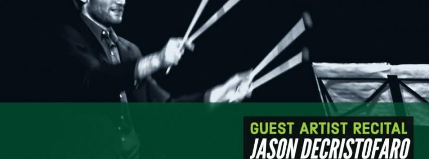 USF Guest Artist Recital: Jason DeCristofaro, Vibrapone