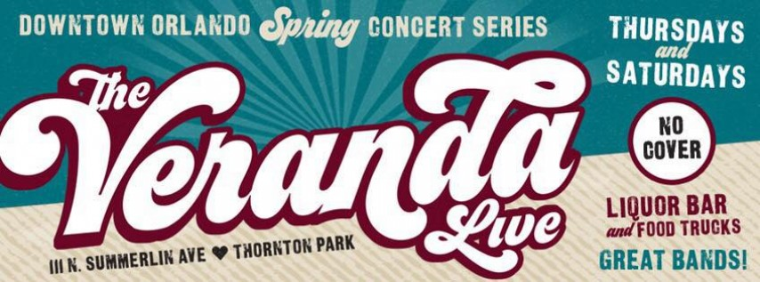 Veranda Live Spring Concert Series Featuring David Schweizer and Life on Mars