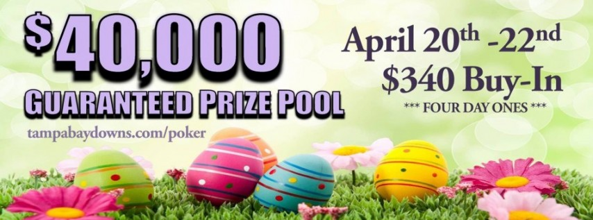 $40,000 Guaranteed Tournament- April 2018