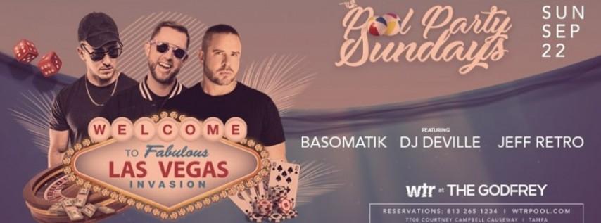 Vegas Invasion at Pool Party Sundays