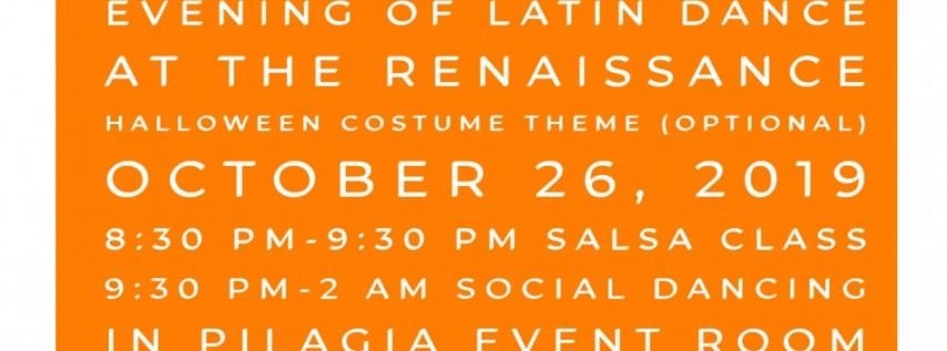 Evening of Latin Dance at The Renaissance 10/26