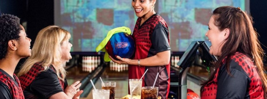 Ladies Bowl Free Wednesdays at Sunrise Lanes