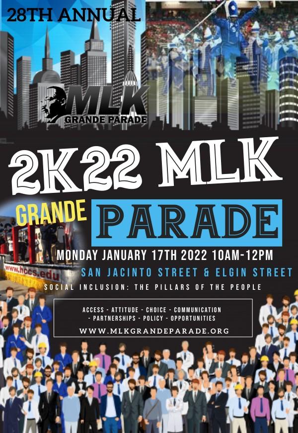 MLK Grande Parade Midtown Houston-2022