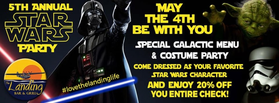 May the 4th Be With You at The Landing