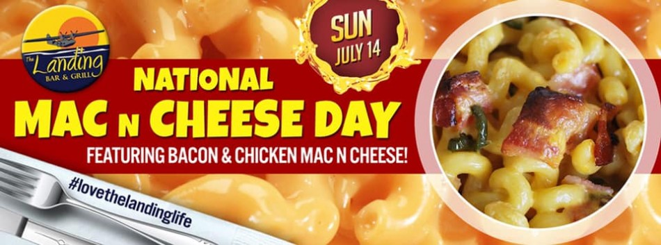 National Mac n Cheese Day at The Landing