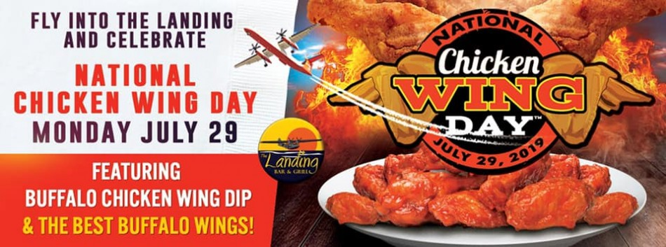 National Chicken Wing Day at The Landing