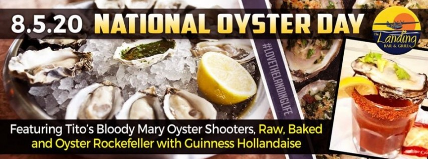 National Oyster Day at The Landing