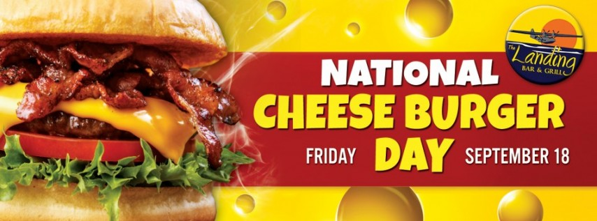 National Cheeseburger Day at The Landing