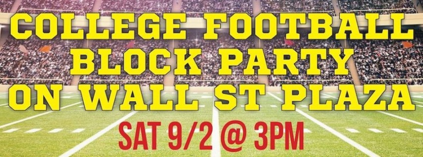 College Football Block Party!