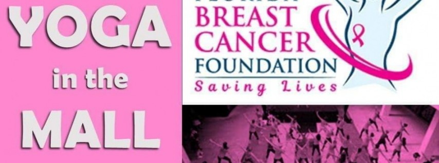 Yoga In The Mall for Breast Cancer Support